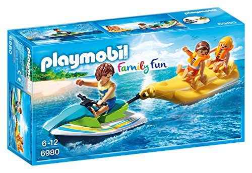 Playmobil  6980 Personal Watercraft With Banana Boat   Free Shipping