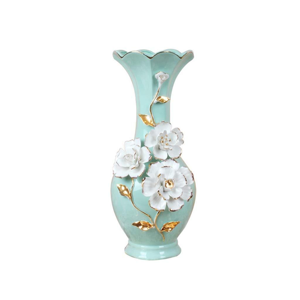ホール花瓶、陶器フラワーアレンジメントドライフラワー花瓶リビングルームダイニングテーブルデスクトップクラブハウス花瓶 (サイズ さいず : 16*20CM) B07SC1F6FP  16*20CM