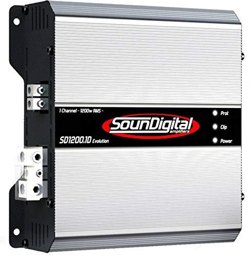 Soundigital 1200.1D EVO 1200W Max Power Monoblock Amplifier