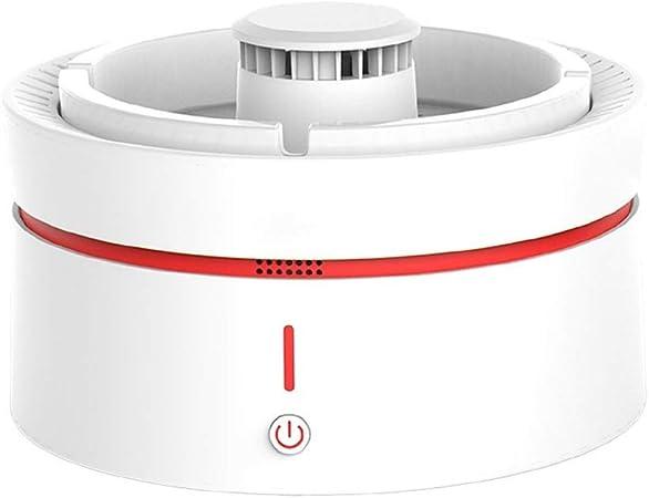 Yyqt Purificador de cenicero, purificador de Aroma, Eliminar el Olor a Humo de Segunda Mano, purificador de Aire de cenicero sin Humo Recargable USB, se Puede Utilizar for el hogar/Oficina/Coche: Amazon.es: Hogar