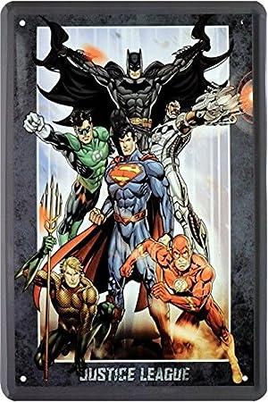Unbekannt Cartel de Chapa 20 x 30 cm DC Comic Superman ...