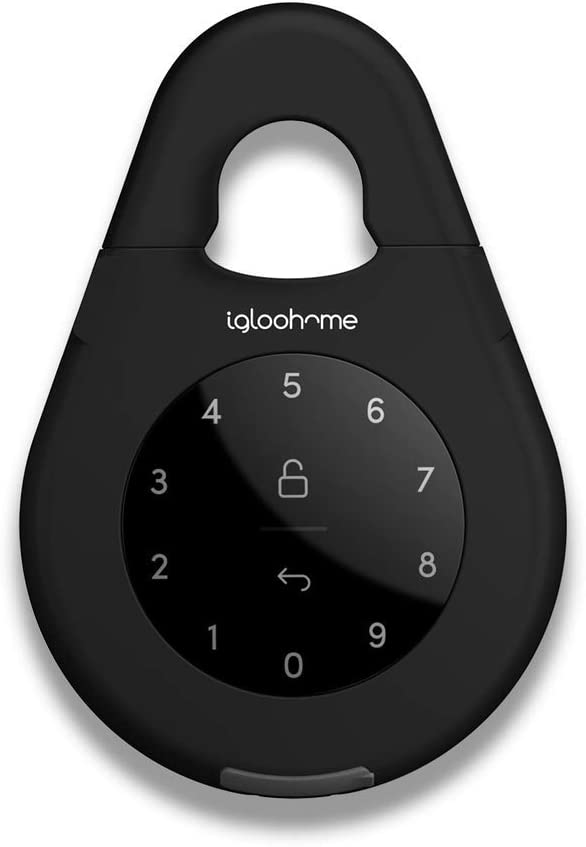 Igloohome Smart Lock Box 3 - Electronic Keybox for Safe Storage - Control Access Remotely