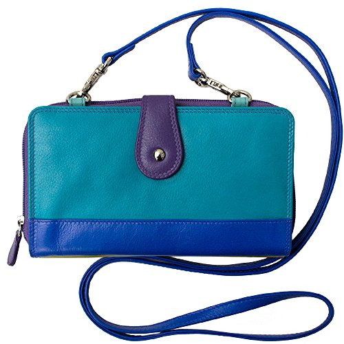 Leather Smartphone Crossbody Wallet RFID product image