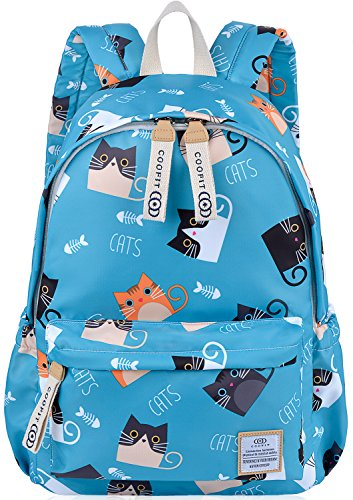 Kids Backpack,COOFIT School Backpack Rucksack Bookbag Nylon Schoolbag for Kids Unisex -