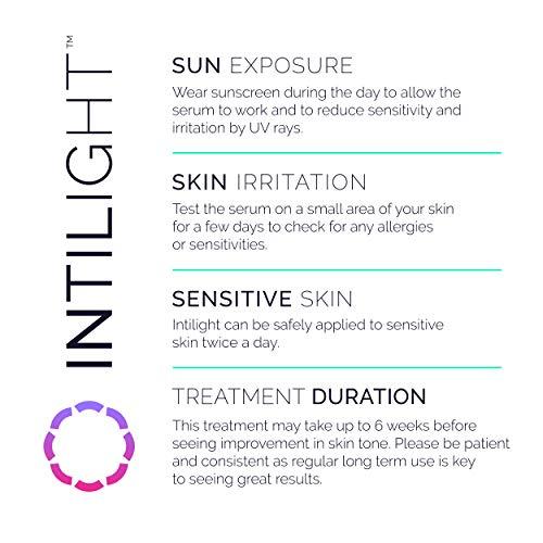 Intilight Skin Lightening & Bleaching Cream for Whitening Face, Neck, Underarm, Bikini, Inner Thigh & Private Areas. Dermatologist Developed for Hyperpigmentation, Melasma Treatment 1.7 oz./50ml by Intilight (Image #4)