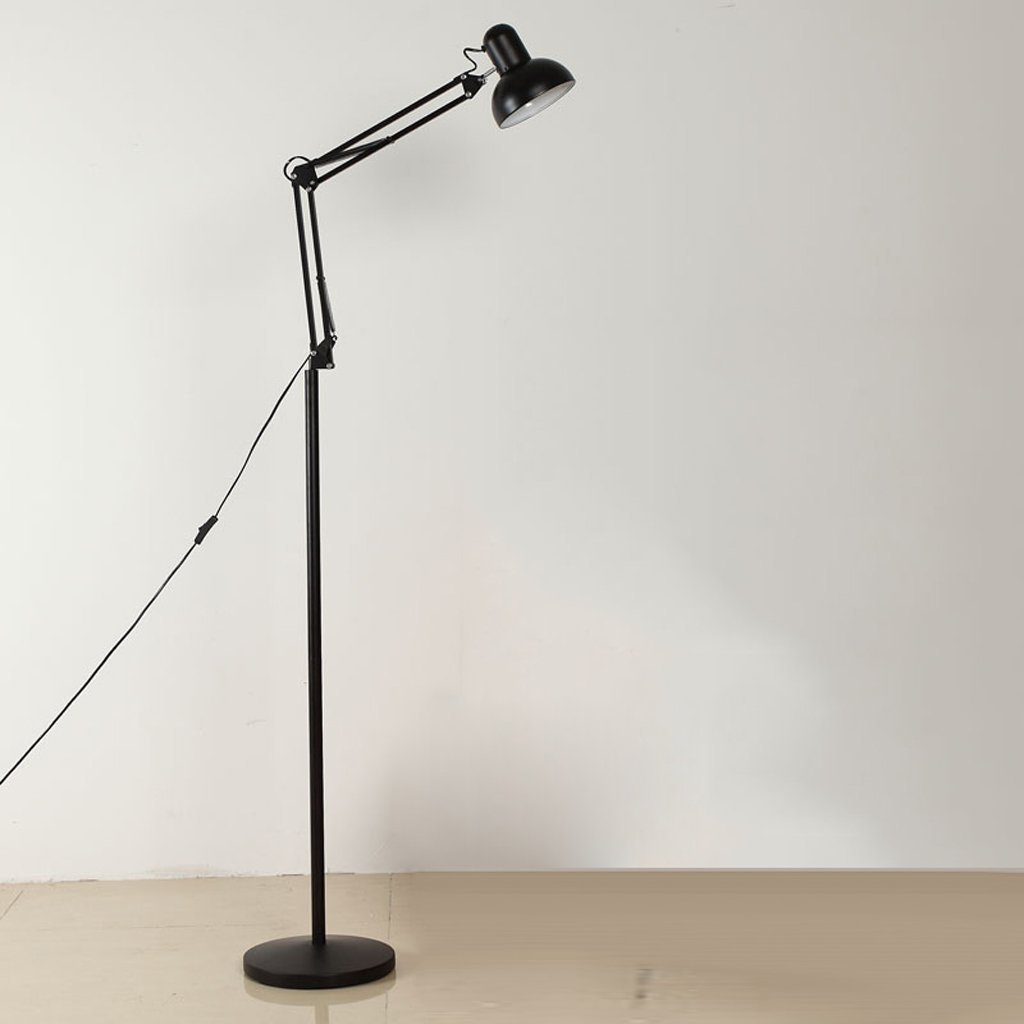 MOMO Stehlampe Modern Einfache Stehlampe Wohnzimmer Stehlampe Schlafzimmer Studie Lampe Kreative Lange Arm Vertikale Stehlampe Led Stehlampe by MOMO (Image #2)