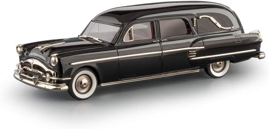 Brooklin Models 1954 Henney-Packard Landaulet Funeral Coach Black CSV17