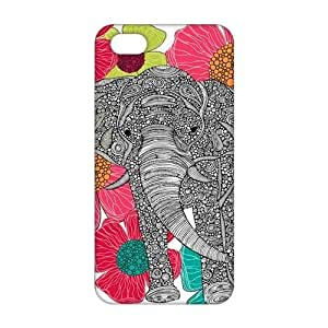 Evil-Store Artistic elephant 3D Phone Case for iPhone 5s