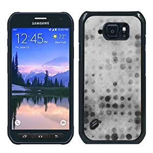 Hot Sale Samsung Galaxy S6 Active Case ,Unique And Durable Designed Case With Party White Ntage Bokeh Color Pattern Wallpaper black Samsung Galaxy S6 Active Cover Phone Case