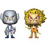 Figuras Vynl Thundercats Panthro & Cheetara