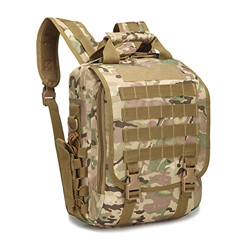 ShaMoShuMa táctico pequeña de Mochila de Cp tableta libre militar agua al mochila de aire prueba camuflaje a mochila la 8qwqTxBpY