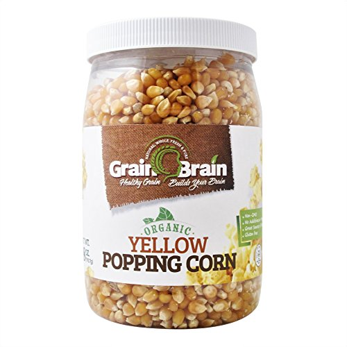 Grain Brain Organic Yellow Popcorn Seeds (28 oz)