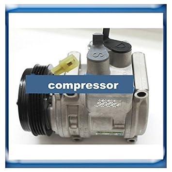 GOWE compresor para SP10 Auto aire acondicionado Compresor para Chevrolet Aveo 95925478 95955943 96416373 720171 716110 082822: Amazon.es: Bricolaje y ...