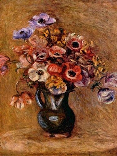 (Lais Jigsaw Pierre-Auguste Renoir - Still Life with Anemones 2000 Pieces)