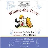 Winnie-the-Pooh: A.A. Milne's Pooh Classics, Volume 1 Hörbuch von A. A. Milne Gesprochen von: Peter Dennis