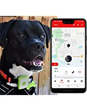YoPets Mini GPS Pet Tracker for Dogs & Cats. Canadian Product. Latest 4G LTE/CAT-M1 model, Real time tracking, Global coverage, Unlimited range. Small size with rechargeable battery. SIM card included.