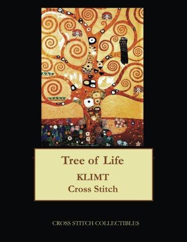 (Tree of Life: Gustav Klimt cross stitch)