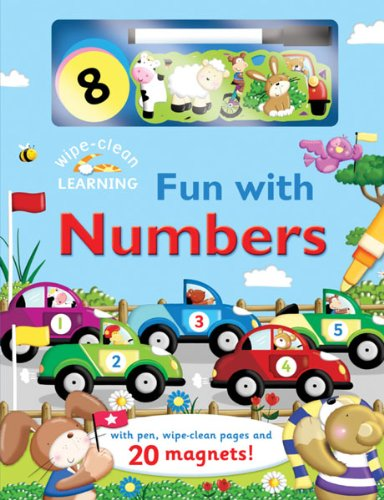 Read Online Wipe-Clean: Fun with Numbers: With Pen, Wipe-Clean Pages, and 20 Magnets! (Wipe-Clean Learning Books) pdf