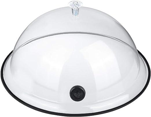 TMKEFFC - Tapa de cúpula para Humo, Tapa de 26 cm para Platos ...