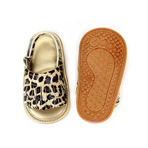 Image of Baby Sandal Tassels Summer Toddler Slipper Shoes 0 6 12 18 Months