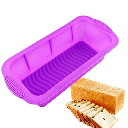 FantasyDay 10'' Rectangle Soap Mold Silicone Cake Baking