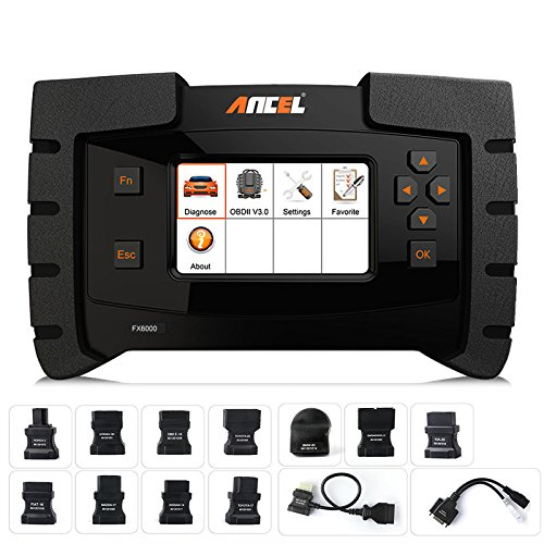 Ancel FX6000 edges the Autel MK808 slightly in terms of functionality and vehicle coverage