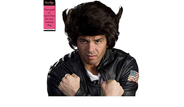 Enigma Wigs X-Men Logan Jackman Mutant Wolfy Wolverine Color Dark Brown