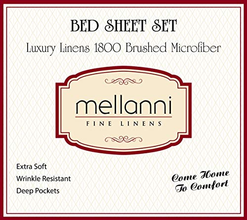 Mellanni Bed linen Set covered linen Pillowcase Sets