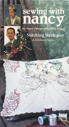Stitches Pattern Booklet (Sewing with Nancy: Stitching Strategies)