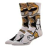Power Rangers White Ranger 360 Character Crew Socks