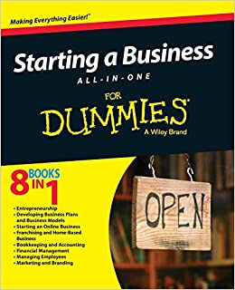 Amazon.c: Starting a Business All-In-One For Dummies ...