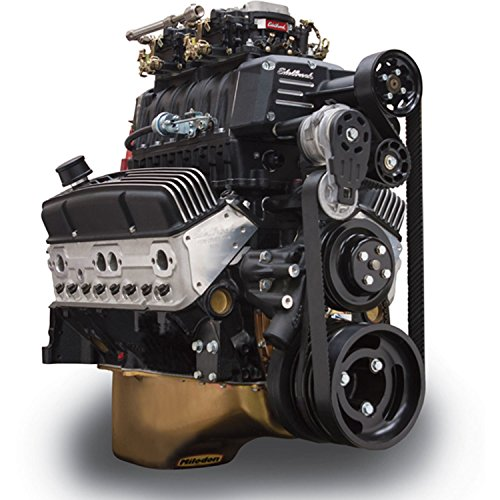 rce Enforcer Supercharged Carbureted Chevy Small Block Crate Engine, Black Finish (Chevy Small Block Crate Engines)