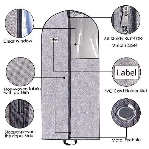 Buy suit garment bag with shoe storage