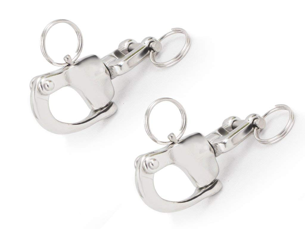 Five Oceans Tack Swivel Snap Shackle, Pair, 2 3/4'' FO-446-M2