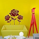 Beautiful Flower Rose Art Desi