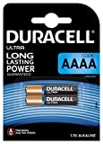 Duracell SpecialtyAlkaline AAAA Battery 1,5V, pack of 2 (LR8D425) designed for use in digital pens, medical devices and headlamps