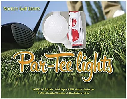 Keystone Novelty Golf Par-Tee Lights