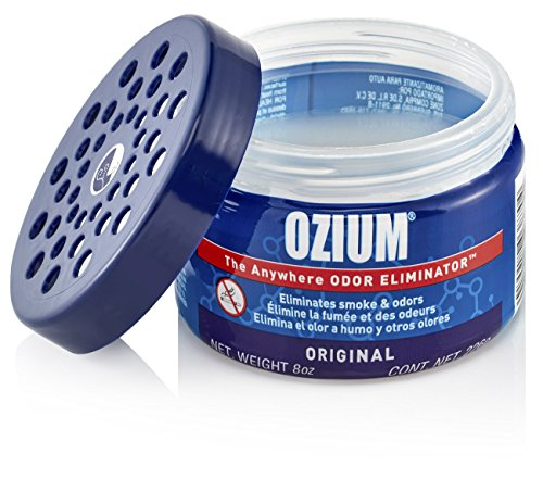 Ozium Smoke & Odor Eliminator 8oz (226g) Gel For Home