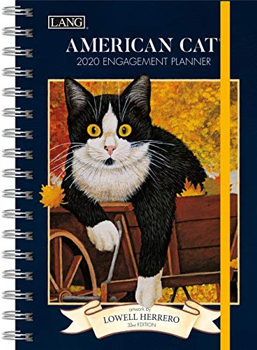The LANG Companies American Cat 2020 Spiral Engagement Planner (20991011081)
