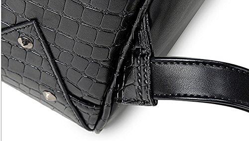 LifenewBaby - Bolso estilo cartera para mujer negro negro large negro