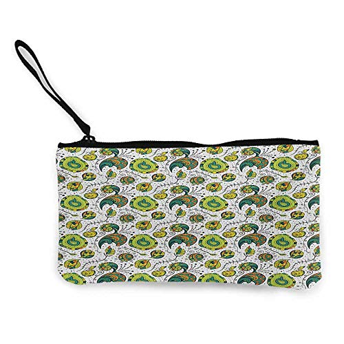 Canvas WalletSmall Cute Coin Purse85 X 45 Inches