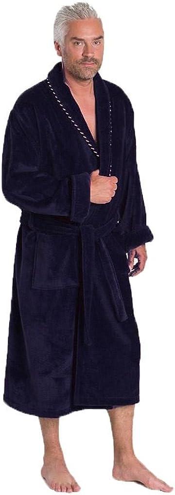 Bown of London Long Homme Peignoir en Velours Coton 450g//m2