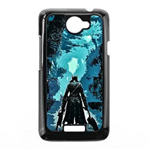 HTC One X Phone Case Covers Black Bloodborne EJA Cell Phone Case Personalized Hard
