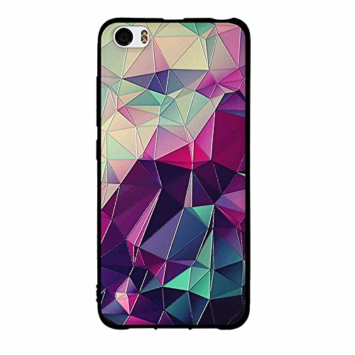 Funda Xiaomi Mi 5, FUBAODA [Flor rosa] caja del teléfono elegancia contemporánea que la manera 3D de diseño creativo de cuerpo completo protector Diseño Mate TPU cubierta del caucho de silicona suave  pic: 02