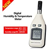 GoerTek Digital Humidity and Temperature Meter Monitor, Hand-held Thermometer Hygrometer for Indoor and Outdoor with Min/Max