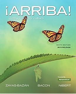 Amazon. Com: ¡arriba! : comunicación y cultura, brief edition, 2015.