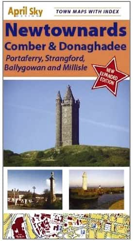 Newtownards and Comber Northern Ireland Town Map (Northern Ireland Town Maps)