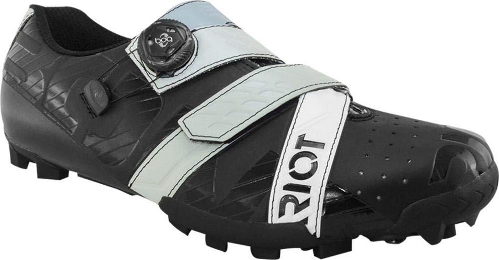 Bont Riot MTB + Boa Cycling Shoe : Euro 42.5ブラック/グレー   B0756P7WZ1