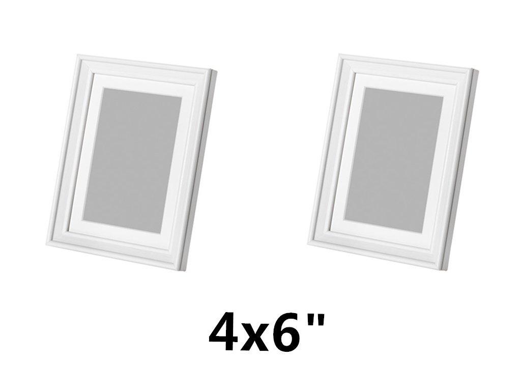 Amazon ikea knoppang frame 5 x 7 white wood photo holders ikea knoppang frame 4x6 white wood photo holders jeuxipadfo Choice Image