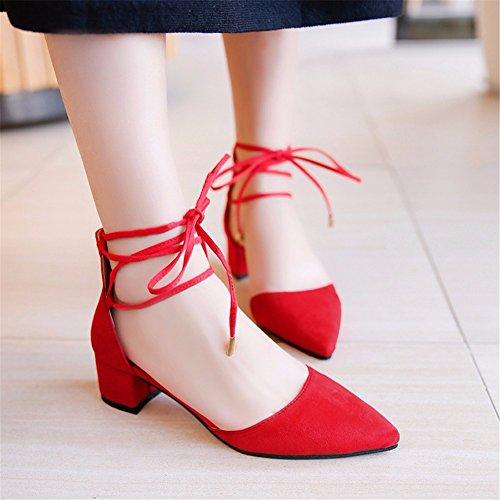 82eb3a47 Buena YUCH Sandalias De Mujer Consejos Anillos De Pie Vendaje Zapatos  Banquete De Boda